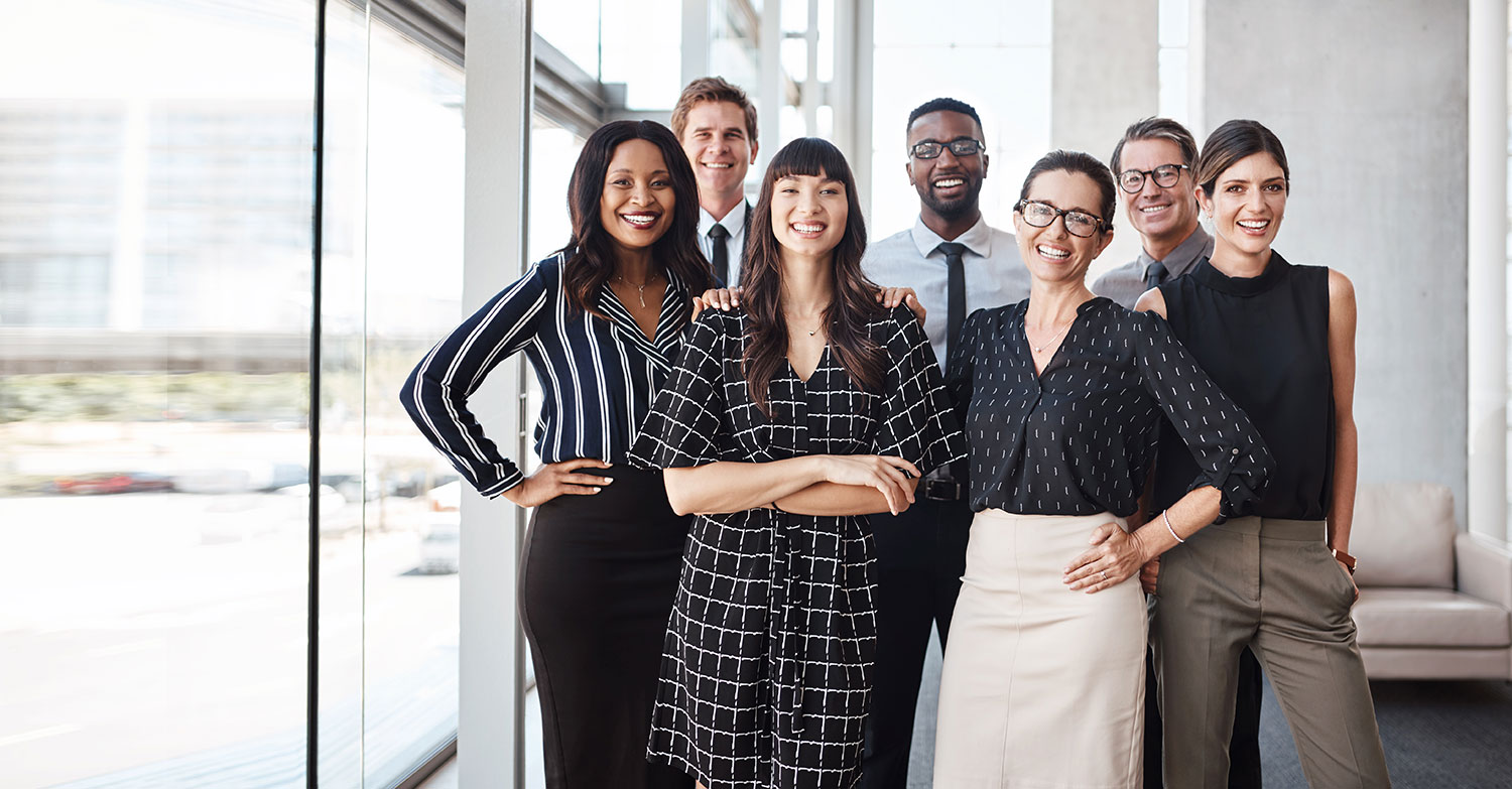 Los Angeles Staffing Firm Staff Smiling